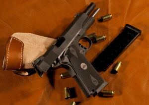 Were the night sights installed on this 1911 pistol a worthwhile upgrade?