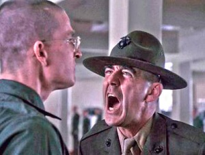I've shot with the Gunny, and while he was a great drill sergeant, I'm sure, He is calm and friendly on a range. Even in basic training, drill sergeants' instruction on a firing range is appropriate to the situation.